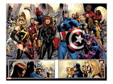 Fear Itself No7: Ms Marvel  Iron Fist  Iron Man  Spider-Man  Captain America and Others