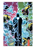 X-Men 12 Cover: Wolverine  Moon Knight  Cyclops  Archangel  Jean Grey  and Emma Frost