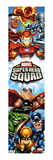 Marvel Super Hero Squad: Falcon  Silver Surfer  Iron Man  Thor  Hulk  Captain America and Wolverine