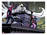Moon Knight No2: Spider-Man  Moon Knight  Wolverine  and Captain America