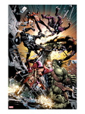 New Avengers 22: Skaar Fighting