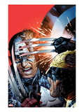 Avengers vs X-Men 3 Cover: Captain America Fighting Wolverine