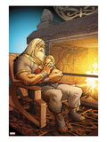 The Mighty Thor 7: Odin Sitting with Thor in his Arms