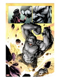 Ultimate Fallout 3: Panels with Hulk Smashing