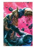 The Thanos Imperative 4 Cover: Drax and Thanos Fighting