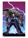 Onslaught Unleashed 3 Cover: Steve Rogers  Nomad and Spider-Girl