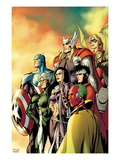 I Am an Avenger 5 Cover: Ant-Man  Vision  Hawkeye  Wiccan  Speed  Captain America and Others