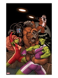 She-Hulks 2 Cover: She-Hulk and Lyra Fighting