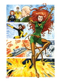 Origins of Marvel Comics: X-Men No1: Phoenix Flying