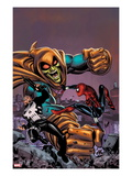 Spectacular Spider-Girl 4: Punisher  Spider-Girl  and Hobgoblin Fighting and Smashing