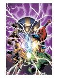 Avengers & The Infinity Gauntlet 1 Cover: Ms Marvel  Hulk  Wolverine  Spider-Man  and Thanos