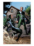 Avengers: The Childrens Crusade No2: Quicksilver and Speed Standing