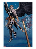 Ultimate New Ultimates 5: Valkyrie in the Rain with a Sword