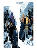 X-Men: Regenesis No1 Cover: Professor X  Storm  Cyclops  Iceman  Wolverine  Magneto and Others