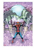 Marvel Adventures Spider-Man 14 Cover: Mysterio Trapping Spider-Man
