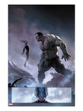Ultimate Comics Ultimates No8: Mr Fantastic and Hulk