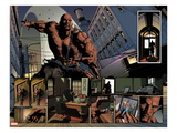New Avengers 23: Panels with Luke Cage