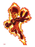 Marvel Super Hero Squad: Human Torch Flying