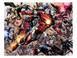 Avengers: The Childrens Crusade 5: Iron Lad  Hulkling  Stature  Captain America and Others