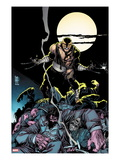 Daken: Dark Wolverine 7 Cover: Daken Under the Moon at Knight