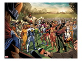 Fear Itself: Youth in Revolt 1: Gravity  Firestar  Komodo  Hardball  Thor Girl  and Ultragirl
