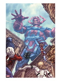 Fantastic Four 602 Cover: Galactus