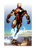 Invincible Iron Man 514: Iron man Flying
