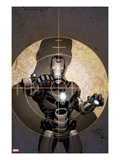 Iron Man 20 No4 Cover: War Machine