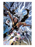 Uncanny X-Men 531: Storm  Northstar  Angel  Dazzler  and Pixie Flying