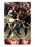 Avengers: The Childrens Crusade 7: Rictor  Shatterstar  Madrox  Strong Guy  and Scarlet Witch