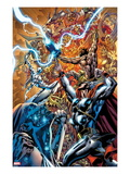 Chaos War 3 Cover: Thor Fighting