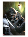Gorilla-Man 3 Cover: Gorilla-Man Posing