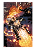 Heroes For Hire 2: Ghost Rider Riding Motorcycle
