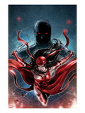 Shadowland: Elektra No1 Cover: Elektra Running