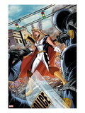 Fear Itself: Youth in Revolt 1: Thor Girl Standing with a Hammer
