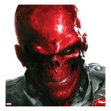 Vengeance 5 Cover: Headshot of Red Skull