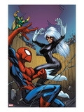 Marvel Adventures Spider-Man 22 Cover: Spider-Man  Black Cat  and Mandarin