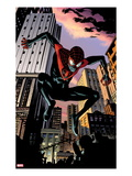 Ultimate Comics Spider-Man 7: Spider-Man Jumping