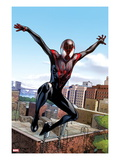 Ultimate Comics Spider-Man 5: Spider-Man Jumping