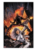 Heroes For Hire No2 Cover: Silver Sable and Ghost Rider