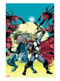 Thor 620 Cover: Thor and Odin Fighting