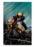 Wolverine: Enemy of The State MGC 20 Cover: Wolverine Crouching
