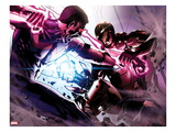 Avengers Annual 1: Wonder Man and Iron Man Fighting