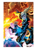 Ultimate Doom No3 Cover: Invisible Woman and Ben Grimm