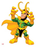 Marvel Super Hero Squad: Loki Posing