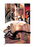 Spider-Island: The Amazing Spider-Girl No1: Spider-Girl Swinging and Screaming through the City