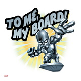 Marvel Super Hero Squad: To Me  My Board! Silver Surfer Riding