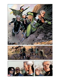 Avengers: The Childrens Crusade 4: Panels with Quicksilver and Speed