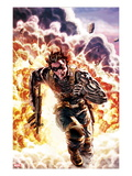 Winter Soldier No4 Cover: Winter Soldier Escaping an Explosion
