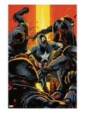 Captain America and Bucky 627 Cover: Captain America Fighting